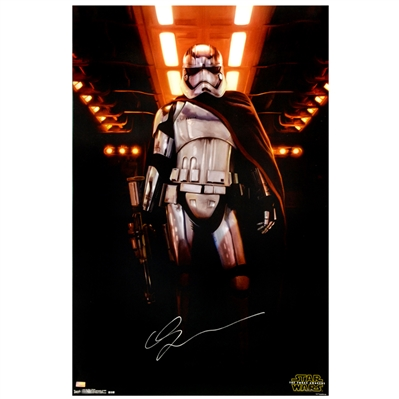 Gwendoline Christie Autographed Star Wars The Force Awakens Captain Phasma 22.5x34 Single-Sided Poster