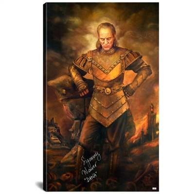 Sigourney Weaver Autographed Ghostbusters 28.5×48 Vigo the Carpathian Gallery Edition Canvas