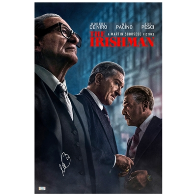 Al Pacino Autographed The Irishman 16x24 Movie Poster