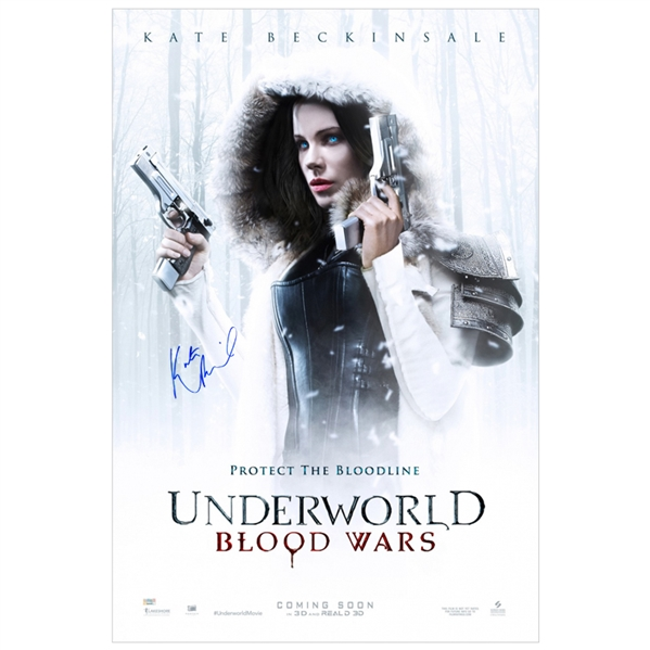 Kate Beckinsale Autographed Underworld: Blood Wars Original 27x40 Single-Sided Movie Poster