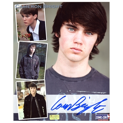 Cameron Bright Autographed X-Men: Last Stand, Running Scared, Twilight 8x10 Collage Photo