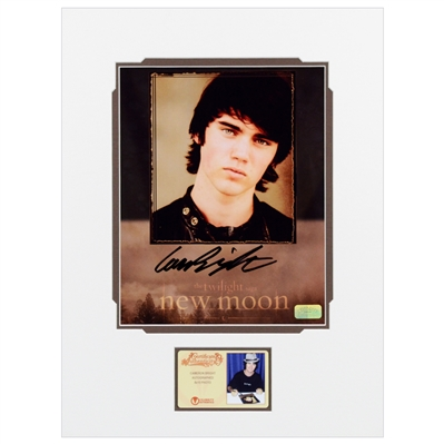 Cameron Bright Autographed Twilight: New Moon Portrait 8x10 Matted Photo