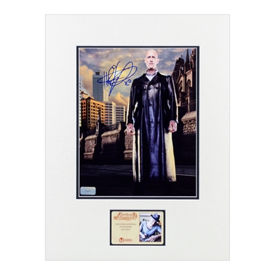 Christopher Heyerdahl Autographed Sanctuary John Druitt 8x10 Matted Photo