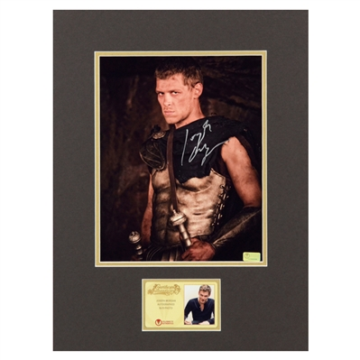 Joseph Morgan Autographed Immortals 8x10 Matted Photo