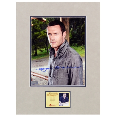 Jason OMara Autographed Terra Nova 8x10 Matted Photo