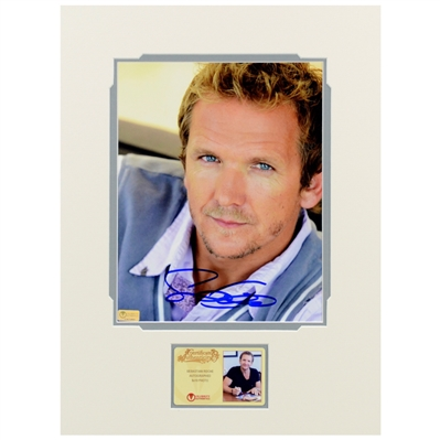 Sebastian Roche Autographed 8x10 Matted Portrait Photo