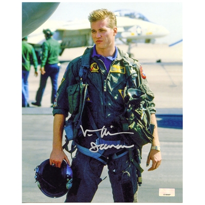 Val Kilmer Autographed Top Gun Iceman 8x10 Photo