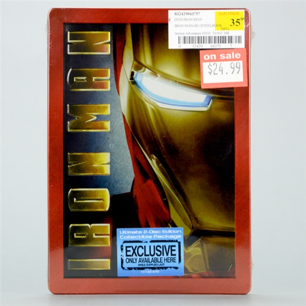 Iron Man Steelbook DVD