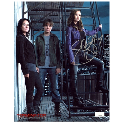 Summer Glau Autographed Terminator: The Sarah Connor Chronicles 8x10 Photo