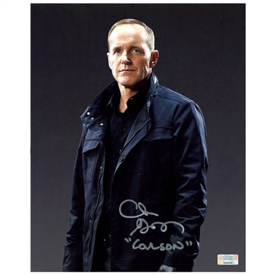 Clark Gregg Autographed Agents of SHIELD Director Coulson 8x10 Photo
