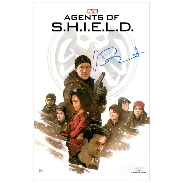 Chloe Bennet Autographed Marvels Agents of S.H.I.E.L.D. 11x17 Art Photo