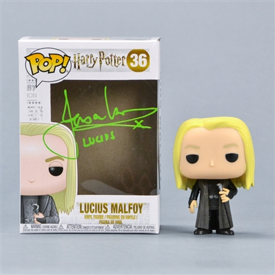 Jason Isaacs Autographed Harry Potter Lucius Malfoy #36 Pop! Vinyl Figure