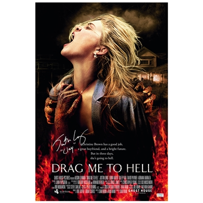Justin Long Autographed Drag Me to Hell 16x24 Movie Poster