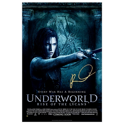 Rhona Mitra Autographed Underworld Rise of Lycans Single-Sided 27x40 Movie Poster